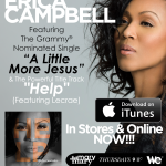 "The Debut Album from Erica Campbell ""Help"" In Stores and Online NOW! #GetHelpNow"