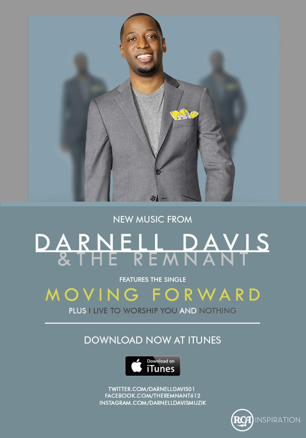 New Music from Darnell Davis & The Remnant - Moving Forward - Download Now At iTunes!