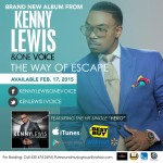 The New Release From KENNY LEWIS & ONE VOICE - THE WAY OF ESCAPE - Featuring The Hit Song HERO !!!