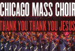 Chicago Mass Choir - Thank You, Thank You Jesus