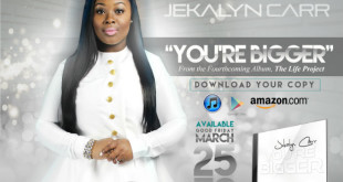 Jekalyn Carr Hits #1 Again on Billboard's Gospel Airplay Chart | @JekalynCarr
