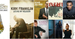 TOP 10 GOSPEL ALBUMS OF 2015 by Christopher Heron