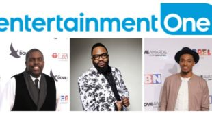 eOne celebrates 3 Dove Award wins for Hezekiah Walker, Jonathan McReynolds, and William McDowell